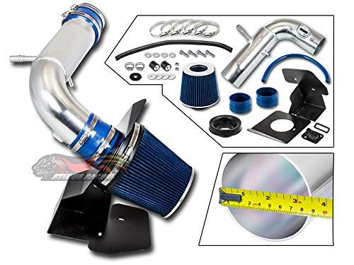 Velocity Concepts BLUE 2011-2018 For Explorer 3.5L V6 Non-Turbo COLD SHIELD AIR INTAKE KIT +FILTER