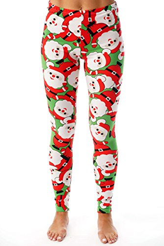 Just Love Ugly Christmas Holiday Leggings 401583-10337-2X