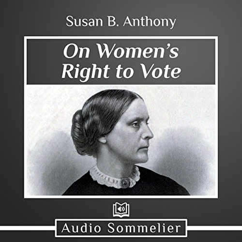 On Women's Right to Vote audiobook cover art