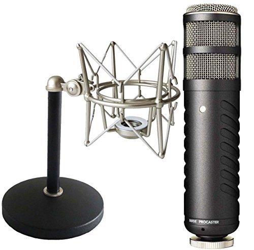 Rode Procaster - Microfono + Keepdrum MS088 ragno + treppiede da tavolo MS032