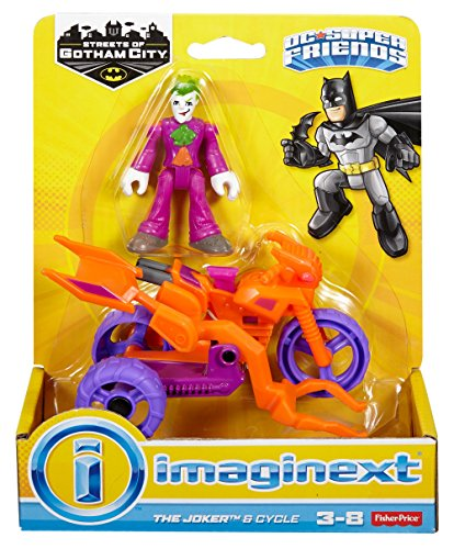 Imaginext 2016 The Joker & Cycle by Streets Of Gotham City 5