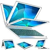iPad Keyboard Case for iPad 7th Generation 10.2, iPad Air 3rd Gen 10.5, iPad Pro 10.5 - Backlit - 360...