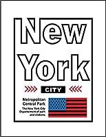 【FOX REPUBLIC】【ニューヨーク シティー】 白マット紙(フレーム無し)A4サイズ