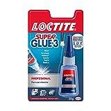 Loctite Super Glue-3 Profesional, pegamento universal...