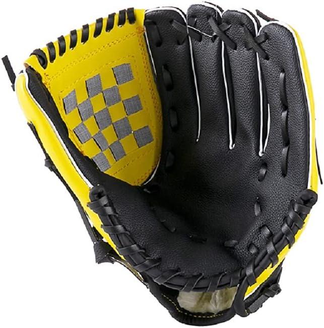 SIDHMART Baseball Glove Softball Gloves, Left Hand Throw Adult a