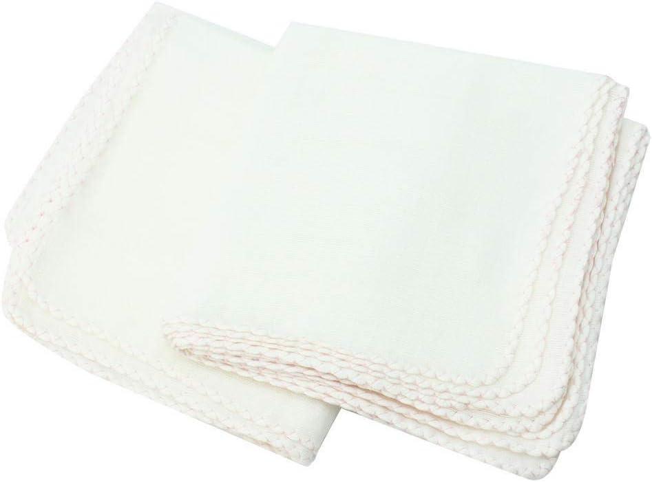 Color : White 10 Pz//Lotto Tipo Quadrato Cotone Pulizia Del Viso Struccante Esfoliante For Il Viso Rinfrescare Lasciugamano Travel