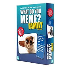 OUR BESTSELLER — NOW FOR FAMILIES! The hilarious game you know and love, now with all the R-rated content removed for family-friendly fun. THE NAME OF THE GAME: Here's how it works — compete with your friends and family to create the funniest memes. ...
