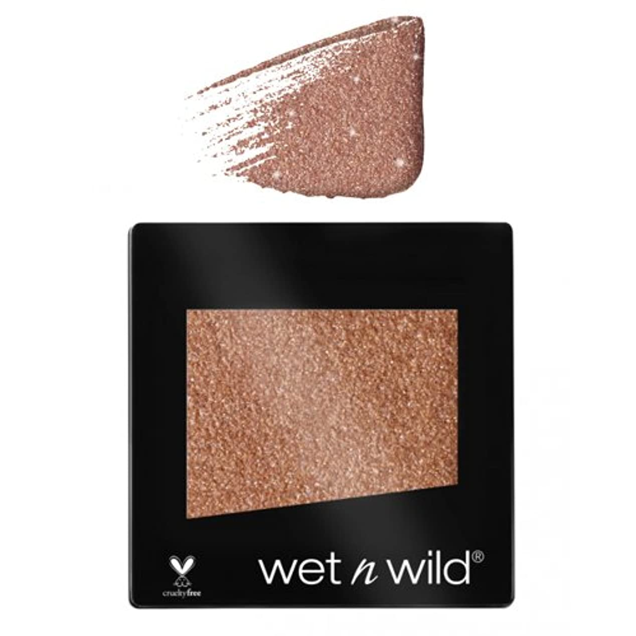 伴う拘束メモ(3 Pack) WET N WILD Color Icon Glitter Single - Nudecomer (並行輸入品)