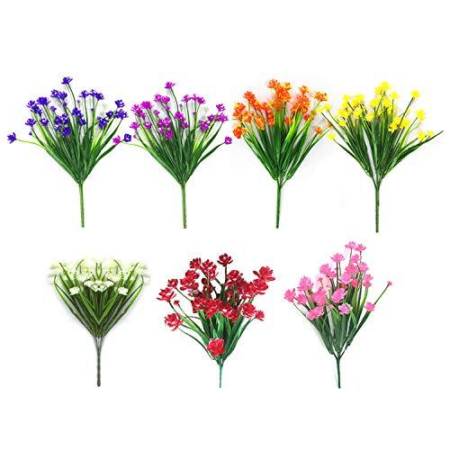 Artificial Fake Flowers 7 Bundle...