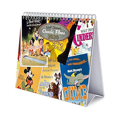 ERIK - Calendario de Escritorio Deluxe 2020 Disney Classic Films (17x20 cm)