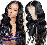 Perruque ondulé femme naturelle brésilien middle lace wig perruques cheveux naturels pour black vrai cheveux bresilienne afro curly human hair wigs 16inch40cm