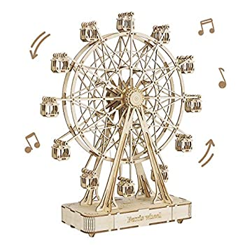 Rowood 3D Wooden Puzzles for Adults Building Crafts Toy Gift for Adult & Teens - Ferris Wheel  232 PCS