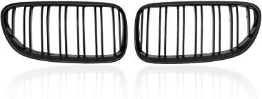 MDYHJDHYQ Front Air Grille Car Front Grilles for B M W E92 E93 2010-2014 Matte Black Front Kidney Grill Grille