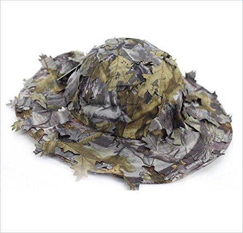 XUE Boonie Hat Tarnung Cap Airsoft Hut Breite Krempe für Herren Camouflage Tarnkappe für Sonnenschutz Jagd Sniper Wildlife Fotografie Outdoor Tactical Militär Army