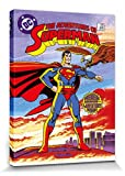 1art1 Superman - DC Comics Cover Bilder Leinwand-Bild Auf