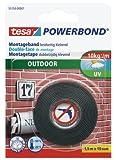 tesa doppelseitiges Montageband Powerbond für Außen, 1,5m