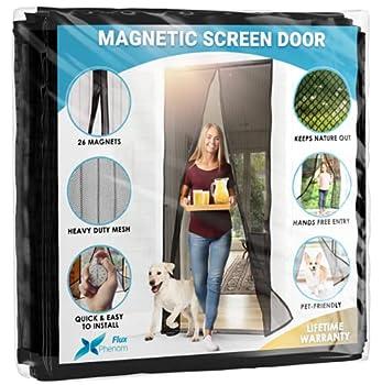 Best magnetic screen door curtain Reviews