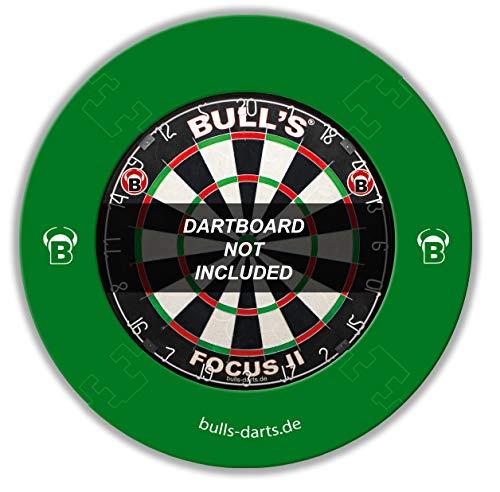Bull's Quarterback Surround/Dartscheibenring/Catchring/Auffangring/Wandschutz, grün