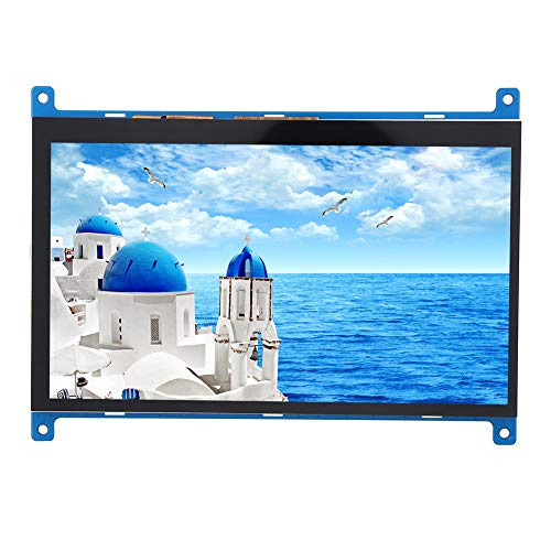 Naroote 7-inch Monitor LCD Module Touch Screen Multi-point Capacitive 1024x600 for BB Black for miniPC