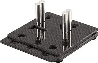 Yoton Accessories 70x60x30mm Mr. Grippy Carbon Fiber Antiskid RC Model Soldering Jig XT60/ Deans T-Plug Bullet Hxt Solder Tool