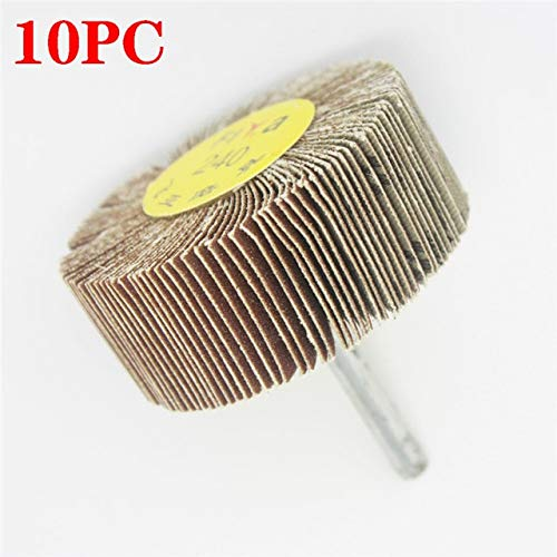 Amazing Deal Xucus Sanding Flap Polishing Grind Wheel Disc Drill Abrasive Tools Sanding Cloth Wire S...