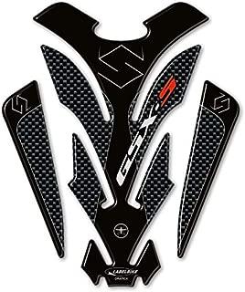 Portector de Depósito Adhesivo Protección Compatible para Suzuki Moto Gsxs GSX-S Carbono