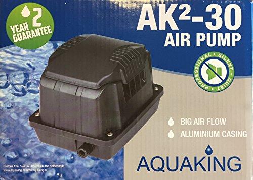 Aquaking Luftpumpe AK²30 Koiteich Belüftung Aquarium Sauerstoffpumpe