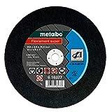 metabo 616327000 616327000-Disco de tronzar Flexiamant Super A30-R Metal A 30-R Ø 350 x 3,0 x 25,4 mm, 1 V, Negro