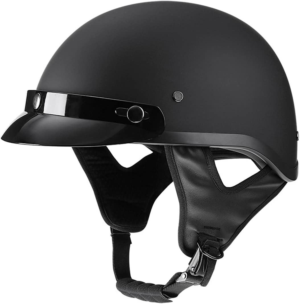 JXSMBP Unisex Phoenix Mall Adult Half Helmet Selling Face with Sun Visor Open