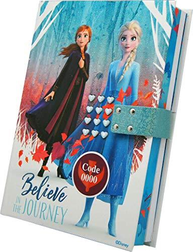 Disney Frozen WD20818 2 - Tagebuch mit Geheimcode 21x3x15,5 cm, mehrfarbig
