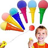 German Trendseller - 6 x EIS Cream - Party Shooter - für Kinder ┃ Kindergeburtstag ┃ Super...