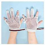 指 しゃぶり 防止 2個セット サッキング ストップ 赤ちゃん 親指しゃぶり矯正 通気性 歯がため 指しゃぶりは (Color : F, Size : XL)