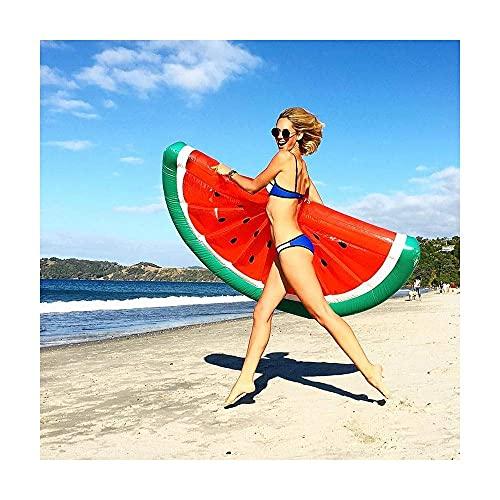 Gcxzb Schwimmreifen Super großes Wasser-aufblasbares Persönlichkeitsstil schwimmende Reihen-Floating-Board-Schwimmring (Color : B)