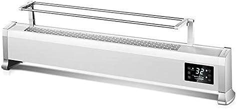 WENMENG2021 Calefactor portátil Calentador convector con 2 configuraciones de Temperatura, termostato y de Cierre de Seguridad, Temporizador y Pantalla LED, Blanca termostato del radiador