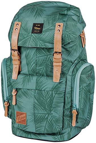 Daypacker Alltagsrucksack im Retro Look mit Gepolstertem Laptopfach, Schulrucksack, Wanderrucksack oder Streetpack, 32 L, Coco