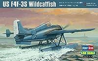 ホビーボス 1/48 エアクラフトシリーズ F4F-3S ワイルドキャット水上機型 プラモデル