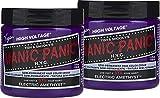 Manic Panic Electric Amethyst Hair Dye 2 Pack