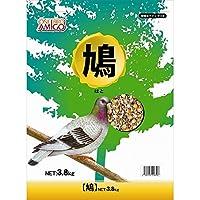 (まとめ買い)アラタ 小鳥用フード ワンバードアミーゴ 鳩 3.8kg 【×3】