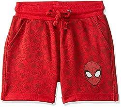 Spiderman Boys  Regular Fit Cotton Shorts