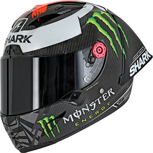 Shark Casco Integrale RACE-R Pro GP Lorenzo Carbon Red Silver DRS Taglia XS