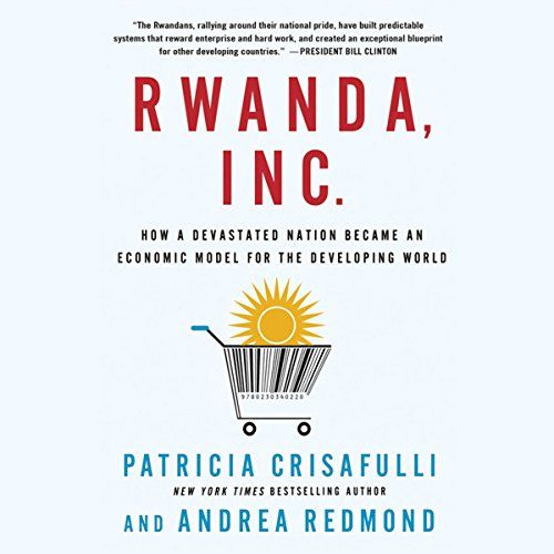 Rwanda, Inc. audiobook cover art