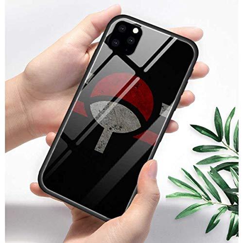 Funda de teléfono trasera de cristal templado para el iPhone 11 11Pro...