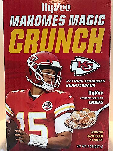 Mahomes Magic Crunch Sugar Frosted Flakes LIMITED EDITION