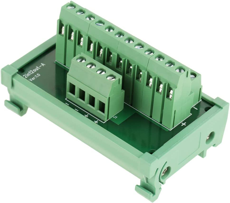 12 Position Some reservation Power Distribution Module Breakout Por Female discount Board