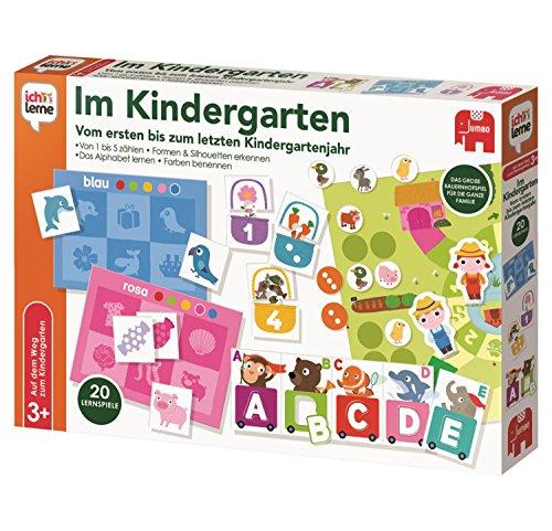 Jumbo Spiele 19568 ich lerne im Kindergarten Lernspiel für Kinder, Ab 3 Jahren, 440 x x 320
