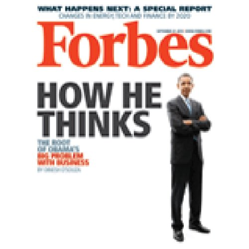 Forbes, September 13, 2010 cover art