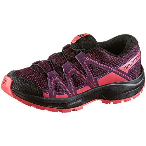 Salomon Jungen Outdoor Schuh in Violett, Größe 30