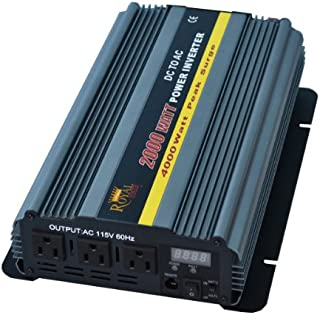 2000 Watt Power Inverter 24 Volt DC to 110 Volt AC