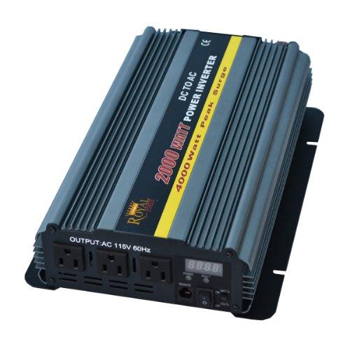 Power Bright APS1000-24 Pure Sine Power Inverter 1000 Watt continuous 2000 watt Peak 24 Volt DC To 120 Volt AC