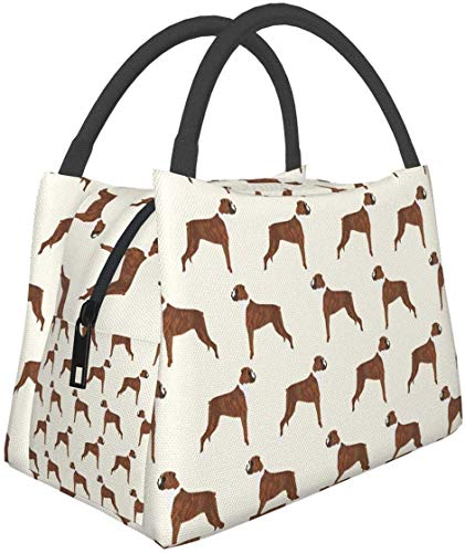 Lovely Hippo Lunch Bag Aislada Fiambrera Cooler Tote Bag para Women-4
